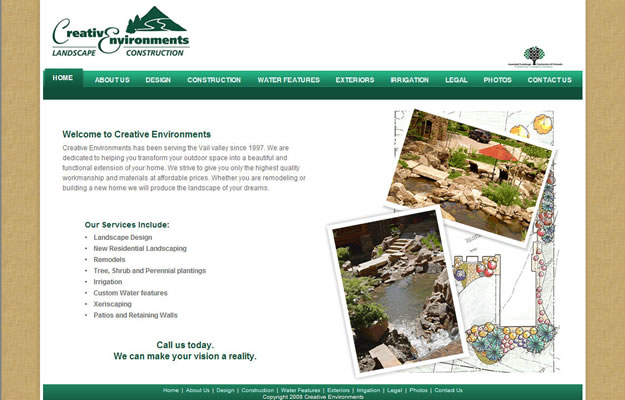The Dillon Dam Brewery website