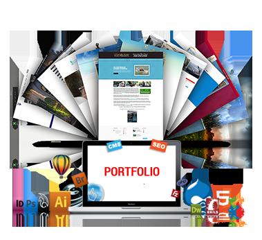 Portfolio image design sevice